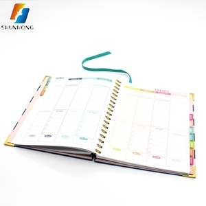 New design paper customized paperboard notebook