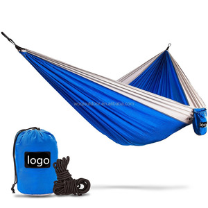 2016 Woqi New Double Portable Parachute Nylon Hammock,With Hammock Straps,Hammock Stands Cheap
