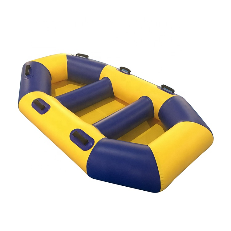 Custom Outdoor Water Sport Material Inflatable Fishing <strong>Boat</strong> with rowing