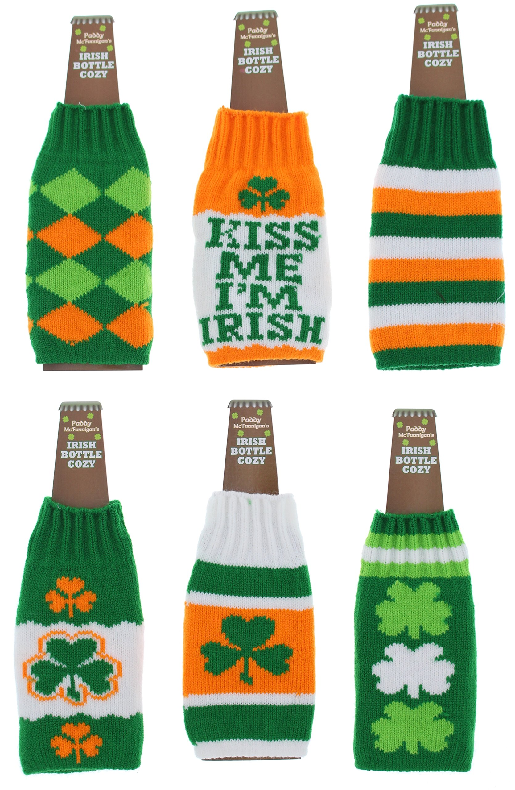 6a17d5ef9f2f3 Get Quotations · Paddy McFinnegan's Irish Beer Bottle Cozy for St. Patrick's  Day ...