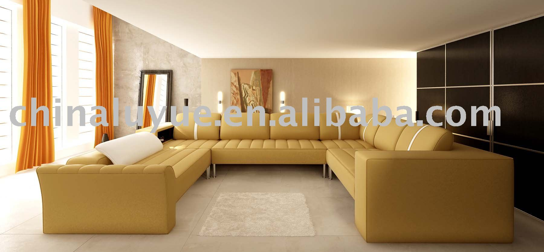 big sofa awesome with big sofa simple mock up poster big sofa concrete wall background d. Black Bedroom Furniture Sets. Home Design Ideas