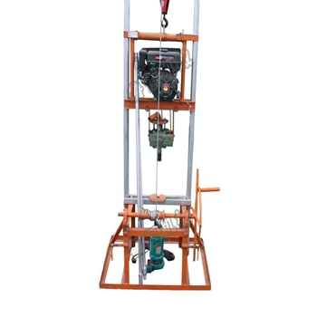Family use water well drilling rig; small water well drilling rig, low cost drilling machine