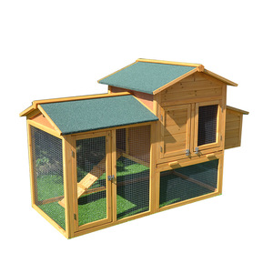 Real wood chicken coop chicken house ecological large family woodland farming large pigeon loft