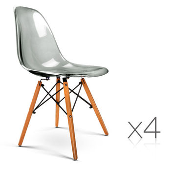 Cheap Colored Transparent Popular PC Plastic Chairs
