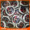 Promotional design plastic ring frisbee