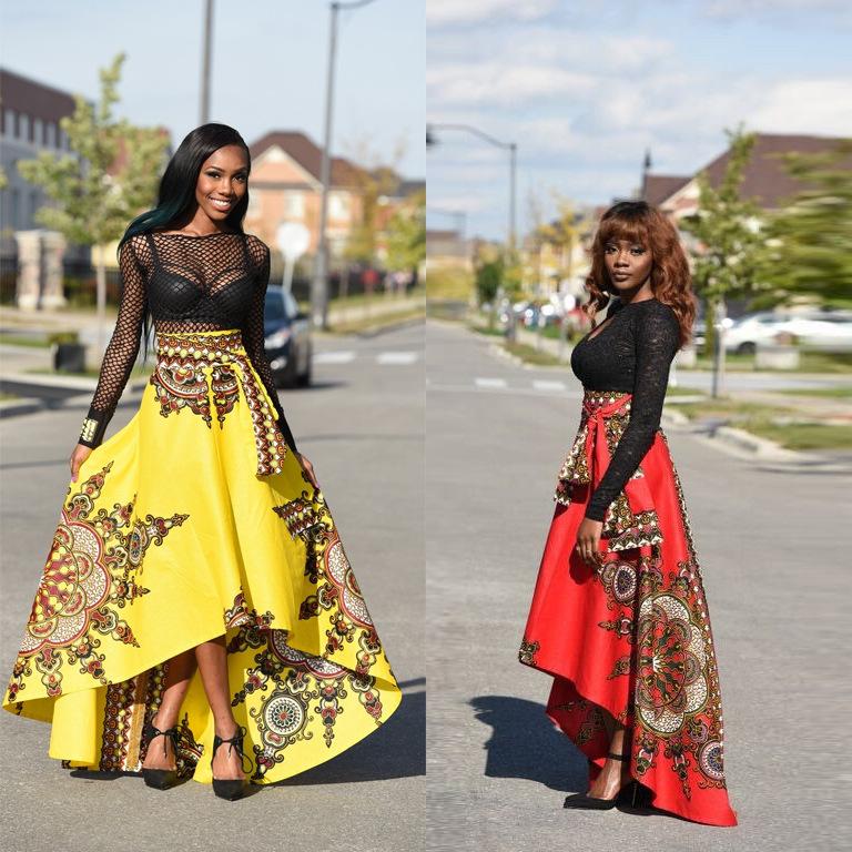 Venta de faldas y vestidos largos