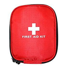 Gikpal First Aid Kit, 31 Pieces Small and Lightweight First Aid Bag FDA Approved Compact Emergency Survival Kit with Waterproof Bag for Car, Home, Travel, Office, School, Sports, Hiking, Road Trips, Camping