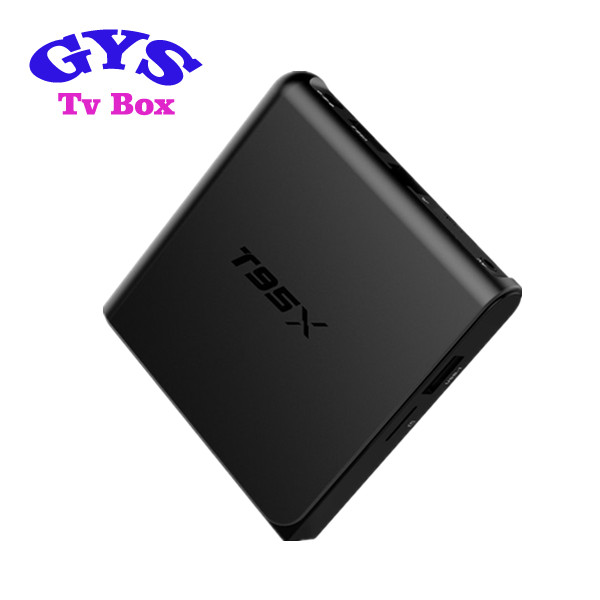 Best Manufacturer Download User Manual T95X Android Tv Box Kodi 16.1 4K Tv Box T95X better than fire tv stick