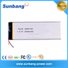 3055155 3000mah battery 3.7v polymer battery for Tablet PC / MID / PDA