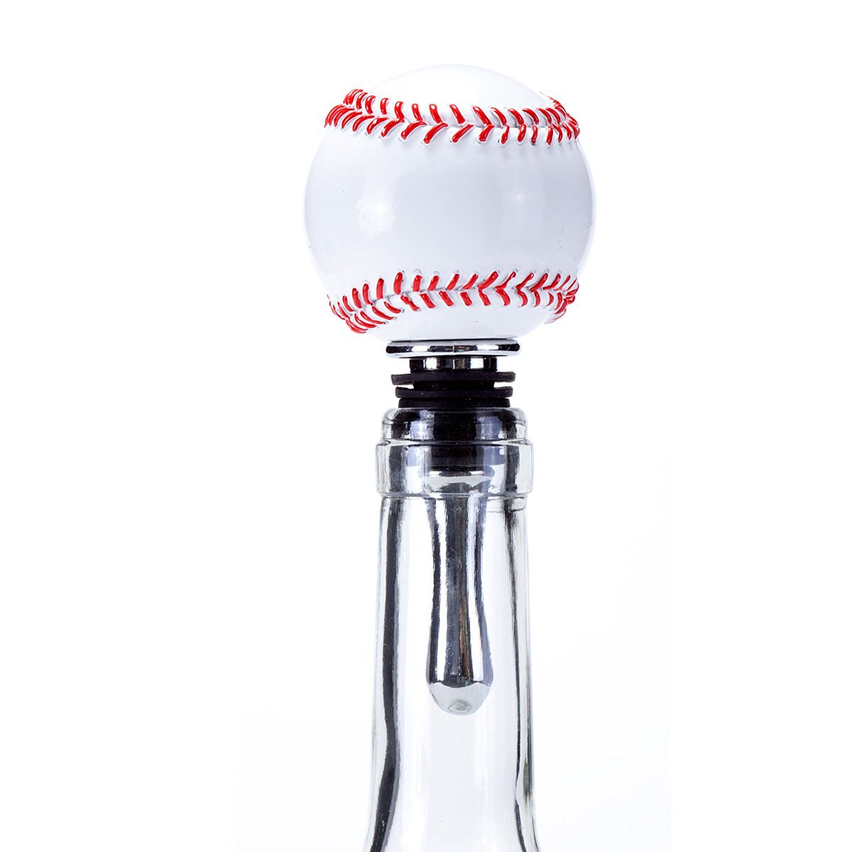 Oenophilia Sports Wine Ball Stopper, Baseball