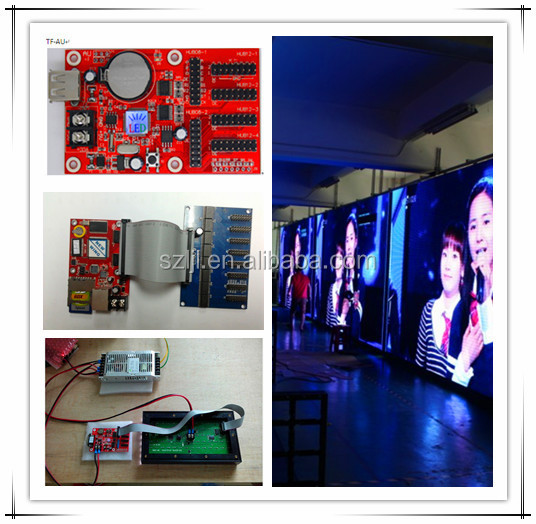 USB/WIFI/RF/GPRS/GSM BX Full Color Led Display Control Card(CE&RoHS Compliant)