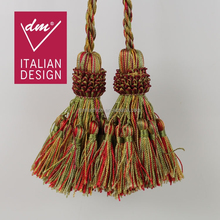 Wholesale colorful polyester decorative tassels for curtains