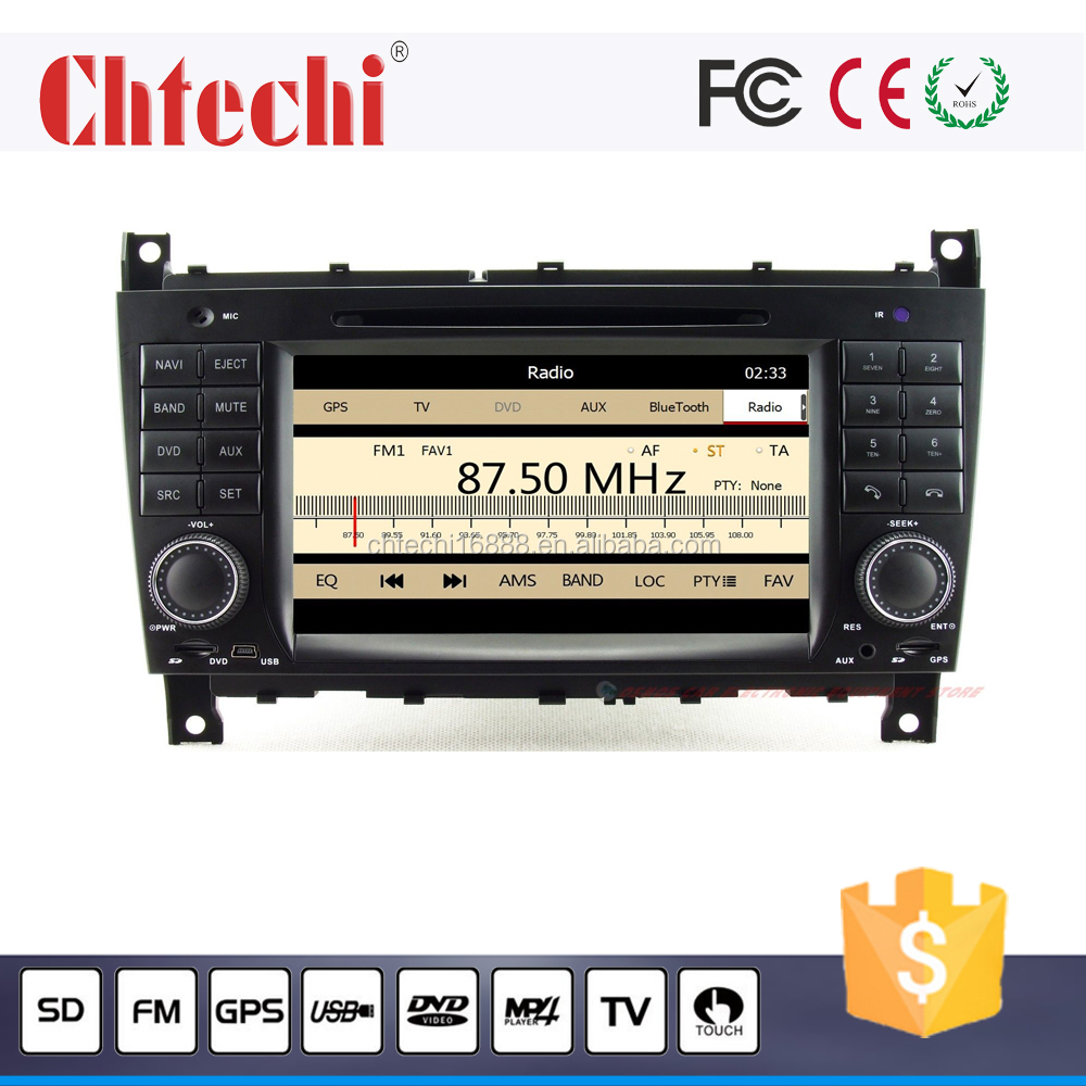 Car DVD Player for Mercedes W203 With Navigation Bluetooth RDS With Canbus