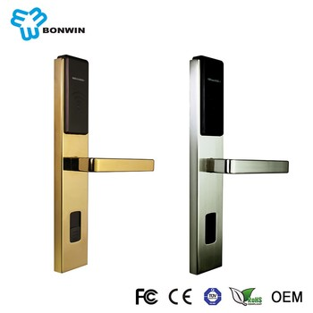 Cheap Price Of One Way Electronic Hidden Door Handle Hotel Lock Locks