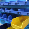 Light duty cost of storage plastic shelf bins