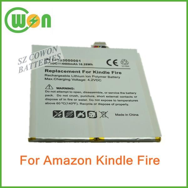 Battery for Amazon kindle fire d01400 3555a2l dr-a013 e3gu111l2002