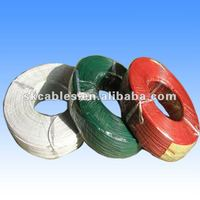 ul approved solid stranded ul1007 22awg pvc coated hook up wire