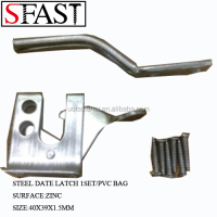 STEEL DATE LATCH 1SET/PVC BAG