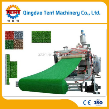 Plastic Artificial Turf Mat Machinery - Buy Artificial Turf Mat  Machinery,Ldpe Grass Mat Machine,Pe Grass Mat Making Production Line  Product on