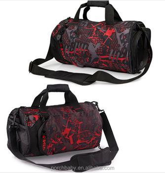 Travel Fancy Custom Gym Bag Men Women Trendy Protege Sport Duffel