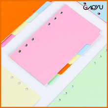 Wholesale Custom Colorful Easy Writing Comfortable Recycle Porose Index Paper