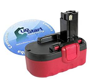 Bosch 52318 2-Pack Replacement Bosch 18v Battery Compatible with Bosch BAT181 Bosch 33618 3300mAh,NIMH Bosch BAT026 + Universal Charger for Bosch Power Tool Battery and Charger Bosch 13618