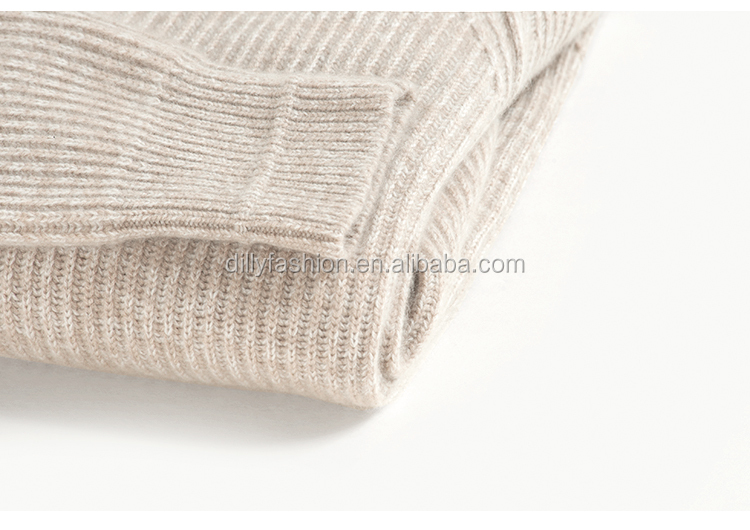 Wholesale 100% Cashmere Sweaters China Women Chunky Pullover