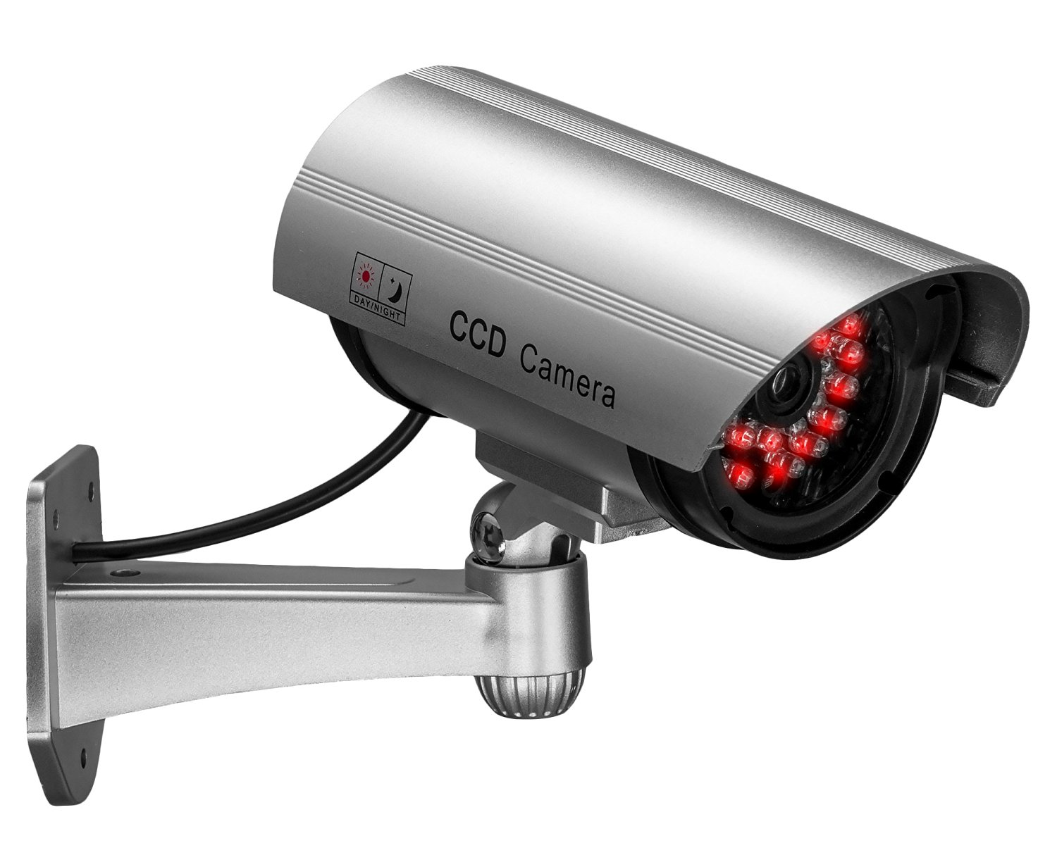 Yubi Power Fake Dummy Waterproof Security Camera -With 30 Red IR Lights