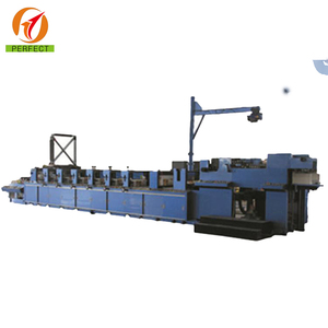Narrow 5 color in line label flexo printing machine