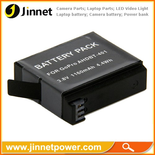 Replacement AHDBT-401 battery for Goproo HEROo 4