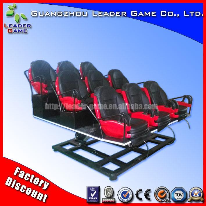 Moda Cine De Movimiento Plataforma Juego Asiento Simulador 3d Gafas ...