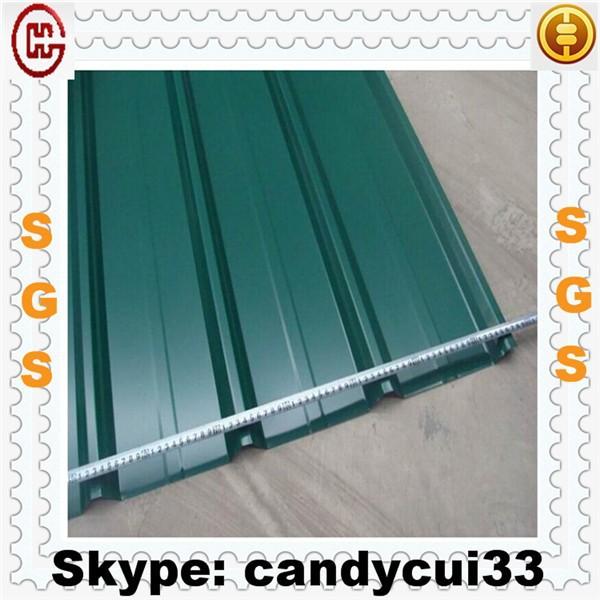 coated carton corrugado para techos de metal hoja de perfil de alicatado