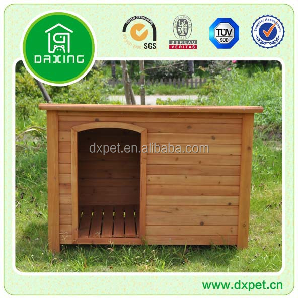 DXDH002 Red stained color dog house