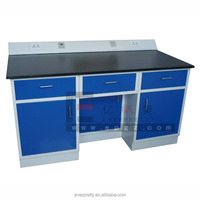 Dental lab bench, chemical lab table, laboratory working table for hospital and school equipment