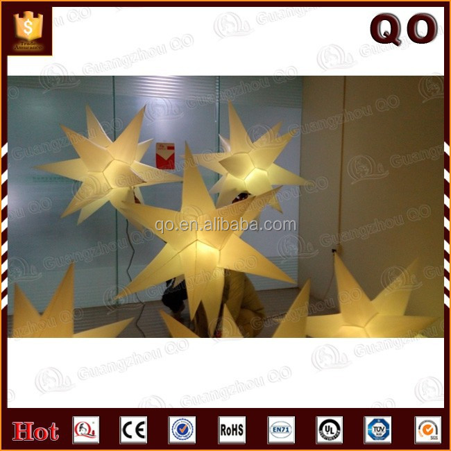 Newest style party decorations inflatable air star balloon