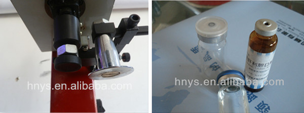 2019 Manual glass vial bottle capping machine for medicine bottle and oral liquid