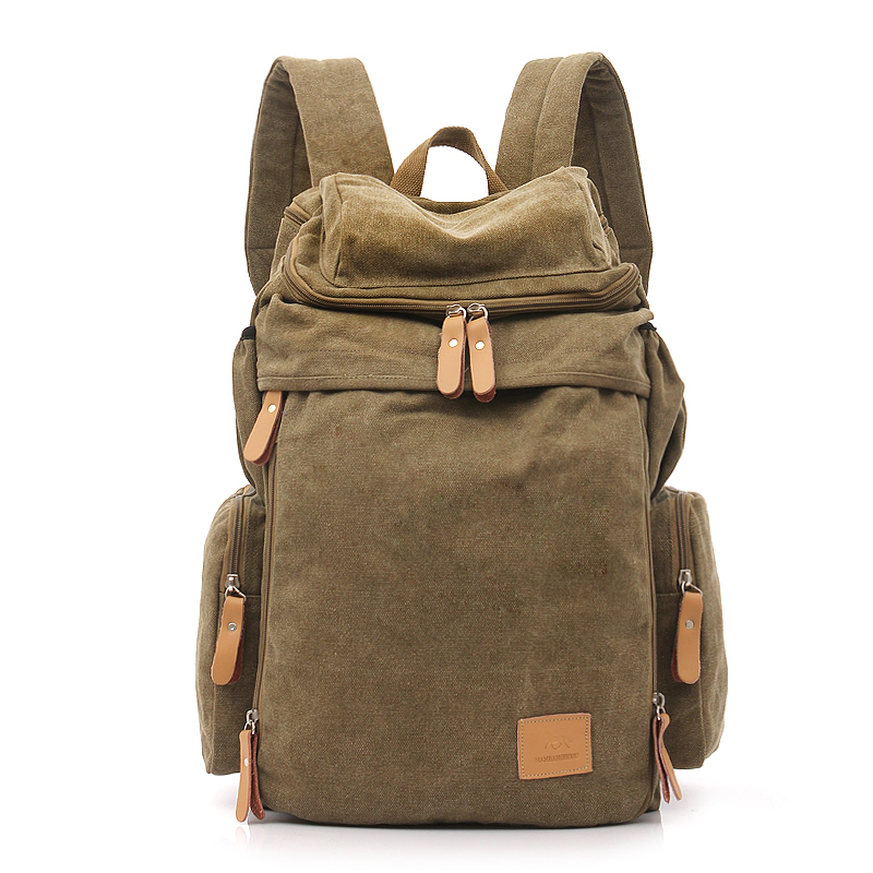 Canvas <strong>backpack</strong> school bag for man laptop bag promotional <strong>backpack</strong>