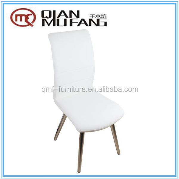novel design dining room furniture metal chrome dining chair
