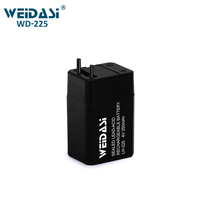 rechargeable sealed 4v lead acid battery for small home appliances