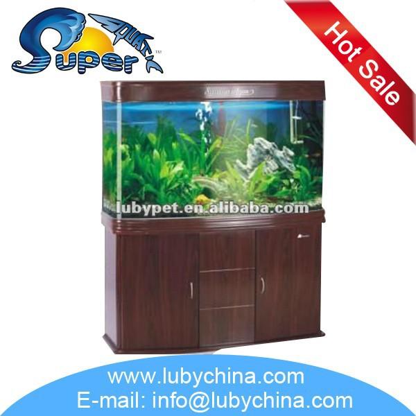 Big Size Sunsun Bending Glass Fish Tank Aquarium For Ornamental ...
