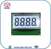 numeric lcd display 7 segment display with STN positive