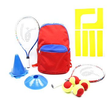 High Quality Kid S Tennis Starter Kits Training Equipment Includes Bag 2 Junior Racket