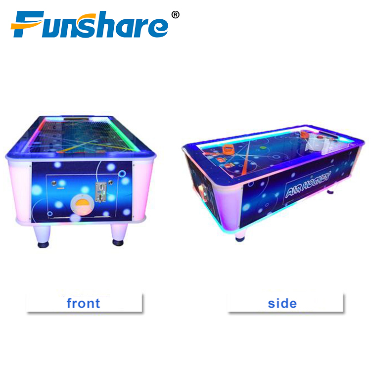Indoor speeltoestellen arcade game machine muntautomaat classic sport air hockey tafel