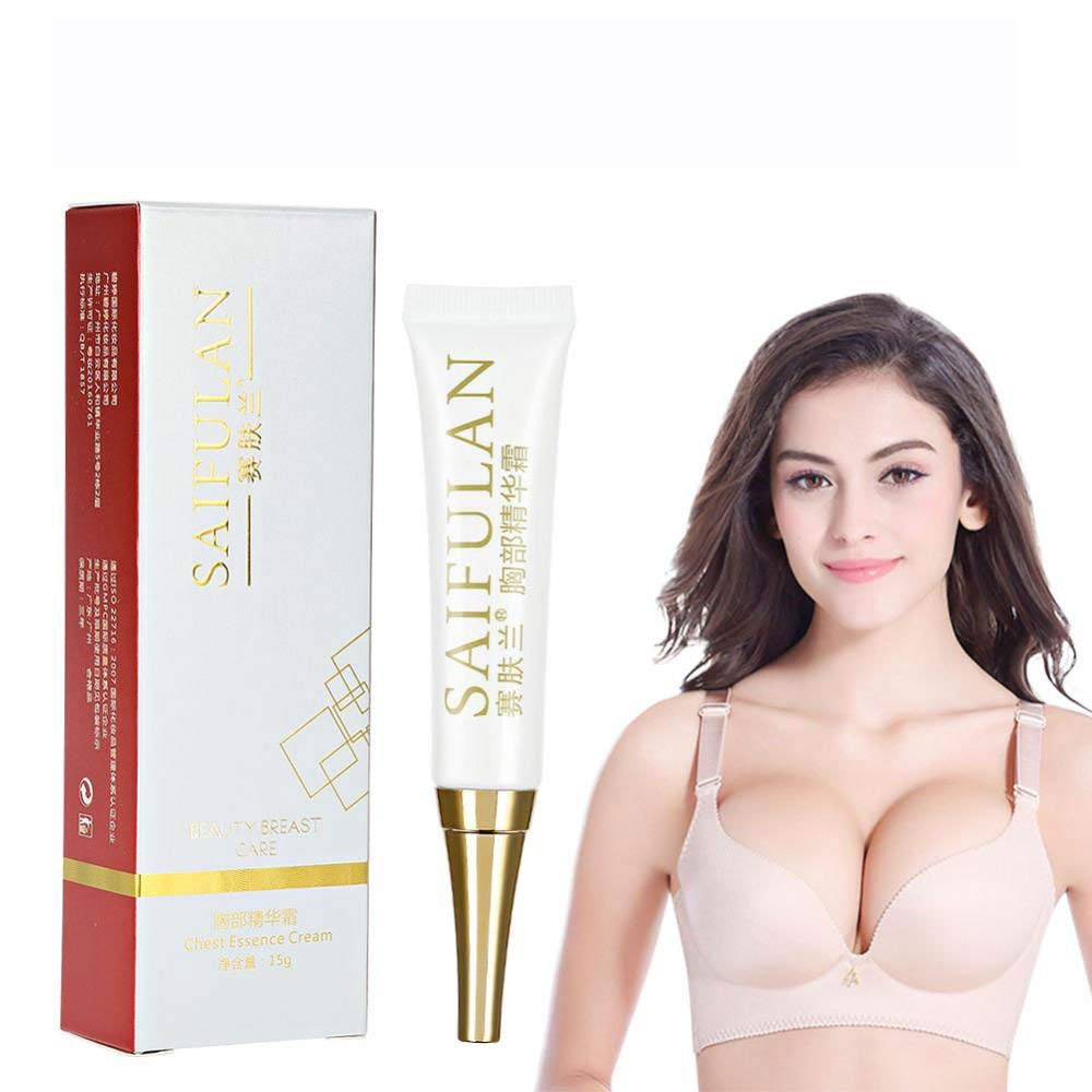 Breast Enlargement Essence, 2PCS Bust Enlarging Cream Breast Firming and Lifting Cream Natural Breast Enlargement