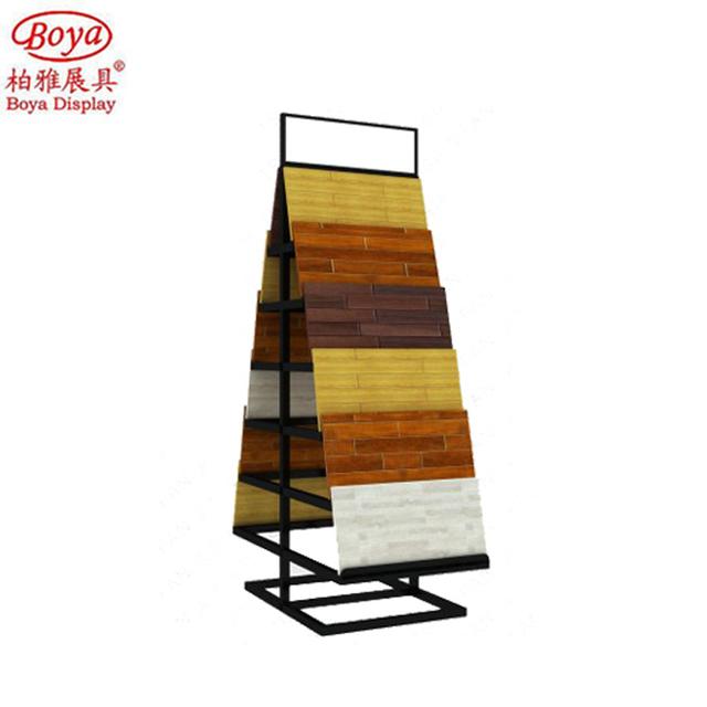 Custom Wood Door Rack/ Floor Display Stand For Exhibition