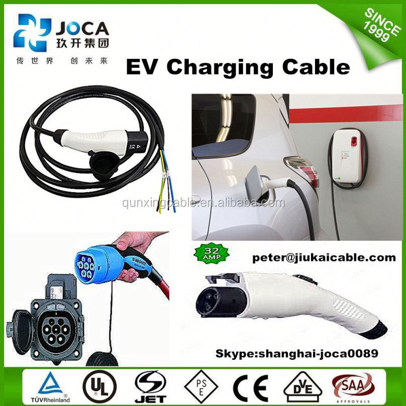 iec 62196-2 ev 7-pin dust plug/16A 32A electric car charGING POINT/socket-oulet