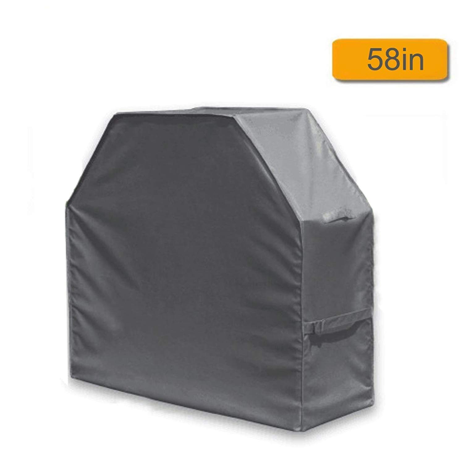 Grill Cover Brinkmann Char Broil JennAir 210D Oxford Fabric Barbecue Covers Anti-UV Rip-resistant Waterproof Gas BBQ Cover Prefect for Weber L:57 W: 24 H:46