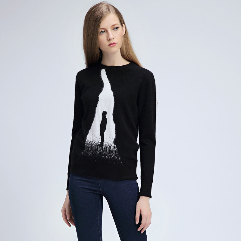 Pure-cashmere-cartoon-sweaters-2015-womens-pullover