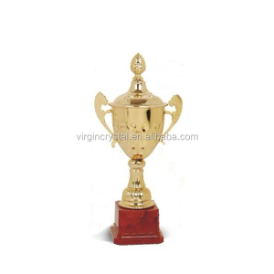 Hot selling small metal cup trophy manufacturer