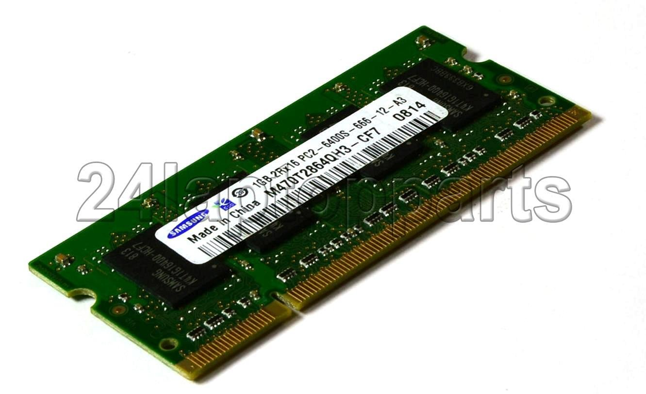 """Samsung Apple RAM Kit - 2GB (2x1GB) 2Rx16 PC2-6400-666-12-A3 DDR2 SODIMM 800MHz -- Memory removed from a 24"""" iMac 2.8GHz Intel Core 2 Duo MB325LL/A"""